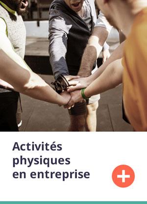 Formation activités physiques en entreprise